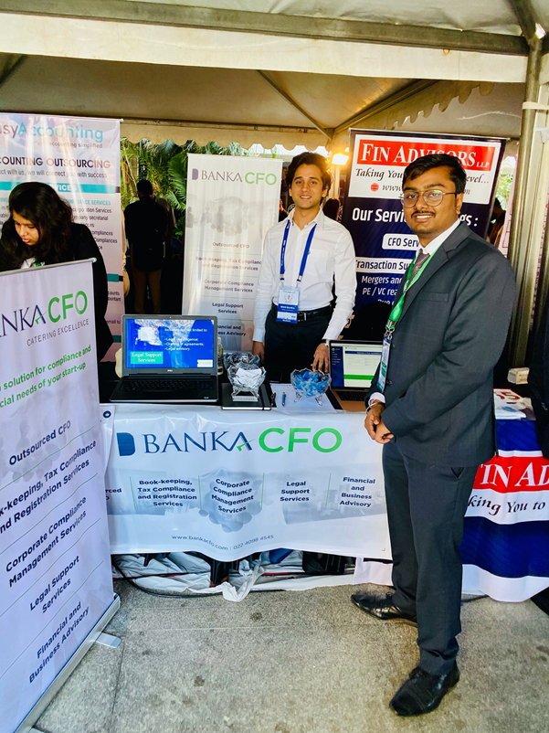 Team BankaCFO at TiECon Mumbai 2020, the largest Entrepreneurial Leadership Conclave