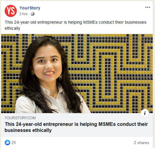 This 24-year-old entrepreneur is helping MSMEs conduct their business ethically